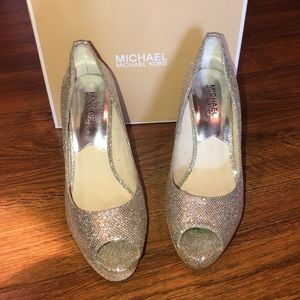 Michael Kors Sparkle Heels